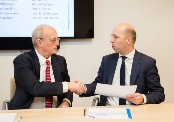 Mondial Van der Velde 't Veentje Verhuizingen tekent Code Verantwoordelijk Marktgedrag